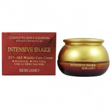 Bergamo Intensive Snake Synake Wrinkle Care Cream, 50 g