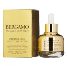 Bergamo Premium Gold Wrinkle Care Ampoule, 30ml
